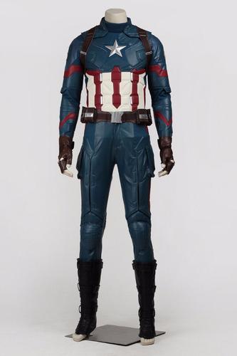 disfraz capitan america cosplay identico que en el filme