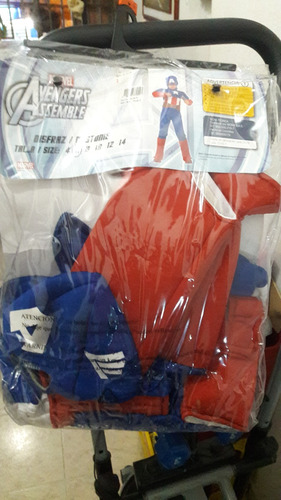 disfraz capitan america marvel avengers assemble 1 puesta