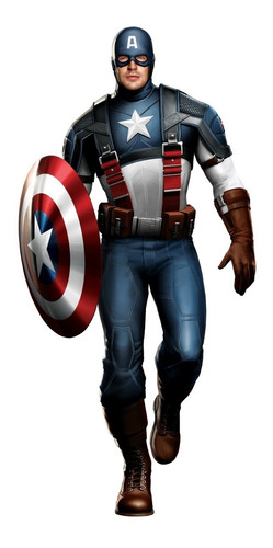 disfraz capitan america marvel new toys original educando