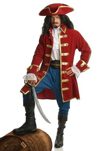 disfraz capitán pirata mediana