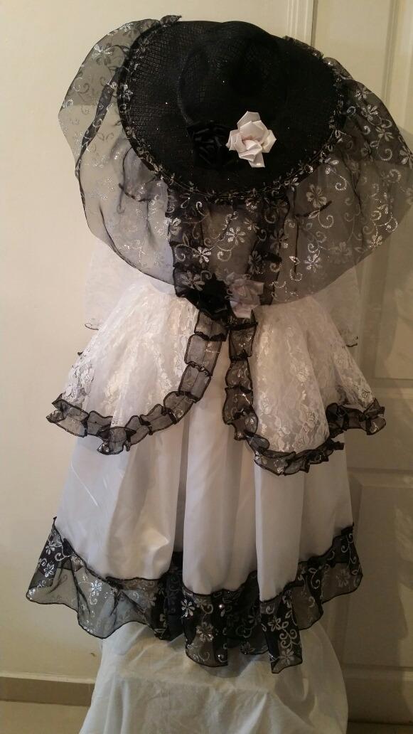 disfraz cartina blanco o novia halloween con sombrero envio. Cargando zoom. 72e0a48ea1b