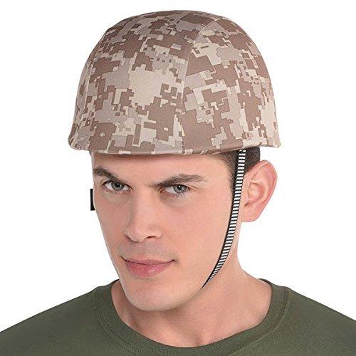 d773d411d6156 Disfraz Casco Militar Amscan Plástico 8 1 2 X 10 X 5 3 4 -   163.900 ...