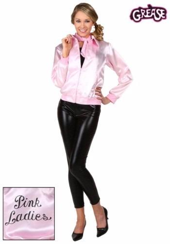 disfraz chamarra 50's 60's grease vaselina rock damas 3