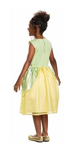 disfraz clasico tiana color verde xs 3t4t