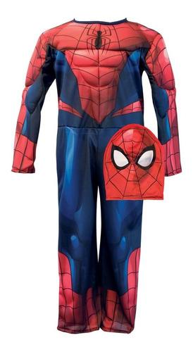 disfraz con musculos hombre araña newtoys mundo manias