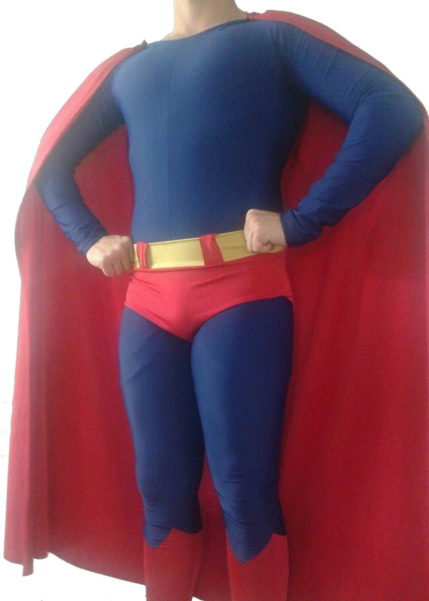 disfraz cosplay de superman algodon c lycra pesado a medida. Cargando zoom. 514a16d9281f