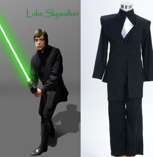 disfraz cosplay traje luke skywalker star wars niños