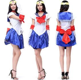 Disfraz Cosplay Vestido Sailor Moon Envio Gratis