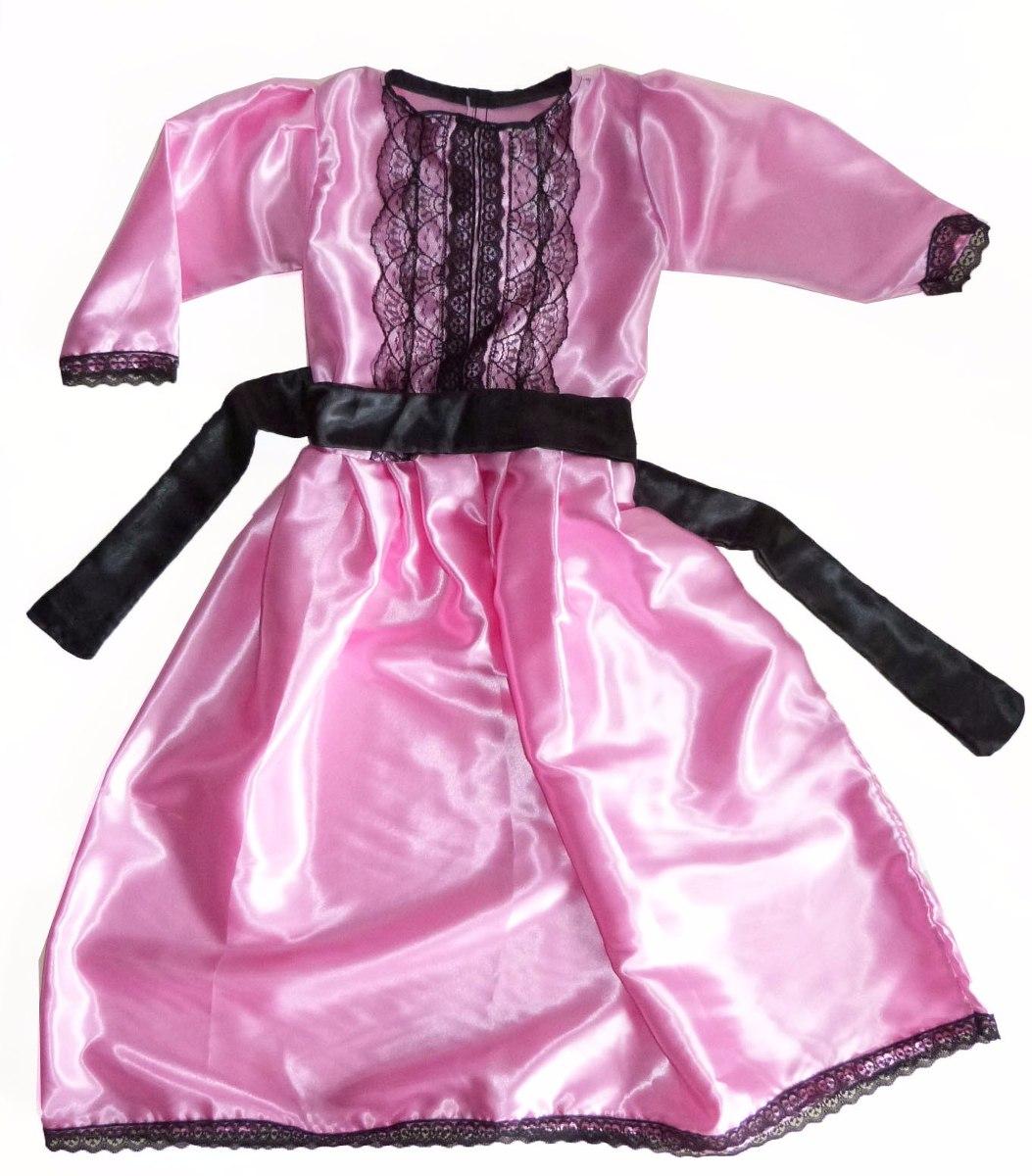 Disfraz Dama Antigua Vestido Nena Patrio - $ 990,00 en Mercado Libre