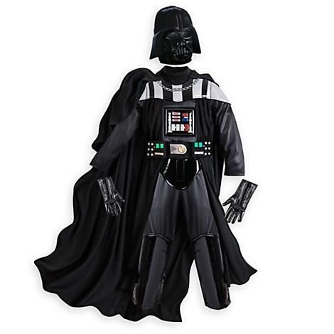 disfraz darth vader disney store traje con sonido star wars 1 en mercado libre. Black Bedroom Furniture Sets. Home Design Ideas