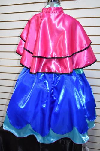 disfraz de ana frozen para niñas