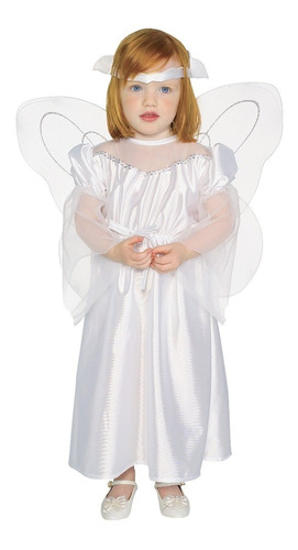 disfraz de angel blanco niña tienda
