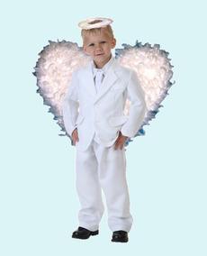 be8d46948 Disfraz De Angel Blanco Para Niño Pastorelas Navidad