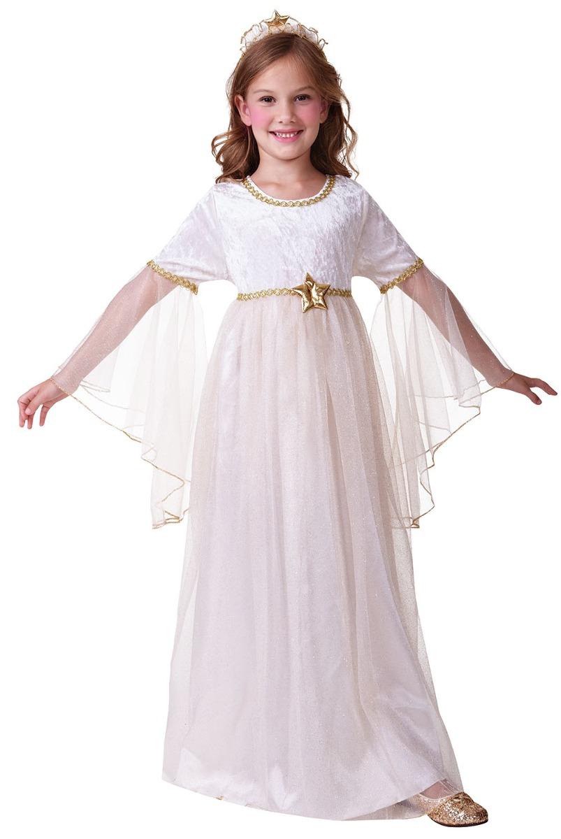 Disfraz de ngel grande y blanco para ni as en - Disfraces de angel para nina ...