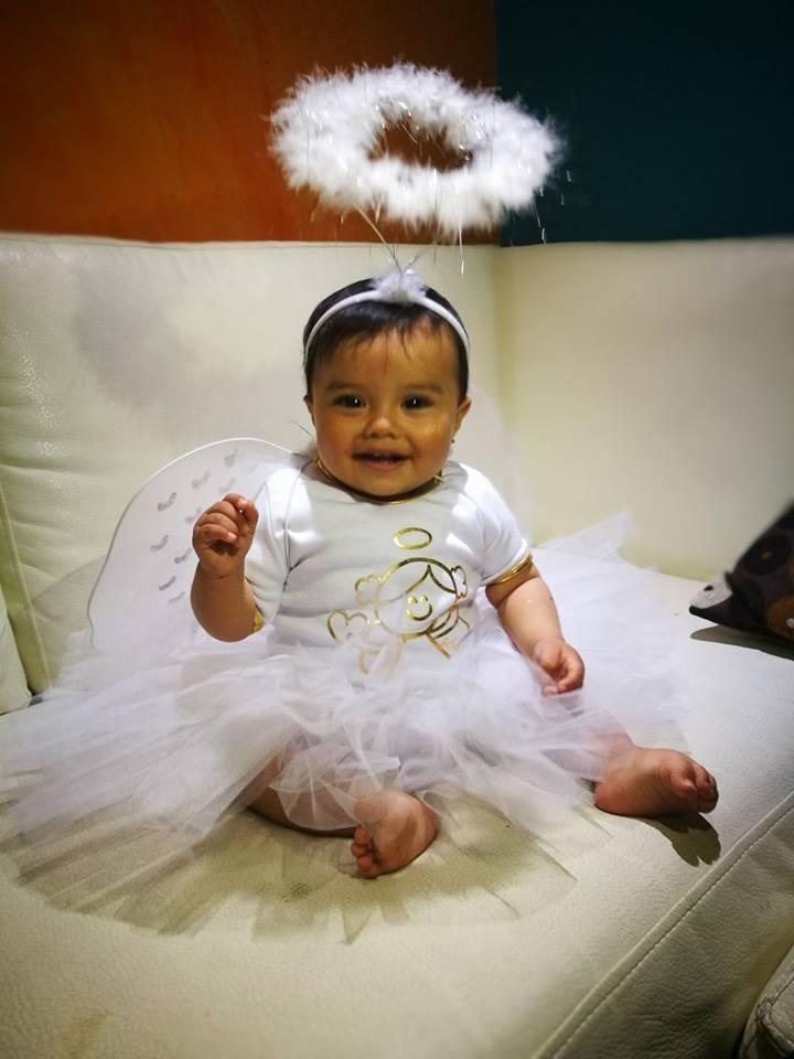 Disfraz de angel tutu para bebe y ni a halloween 2017 - Disfraz de angel nino ...