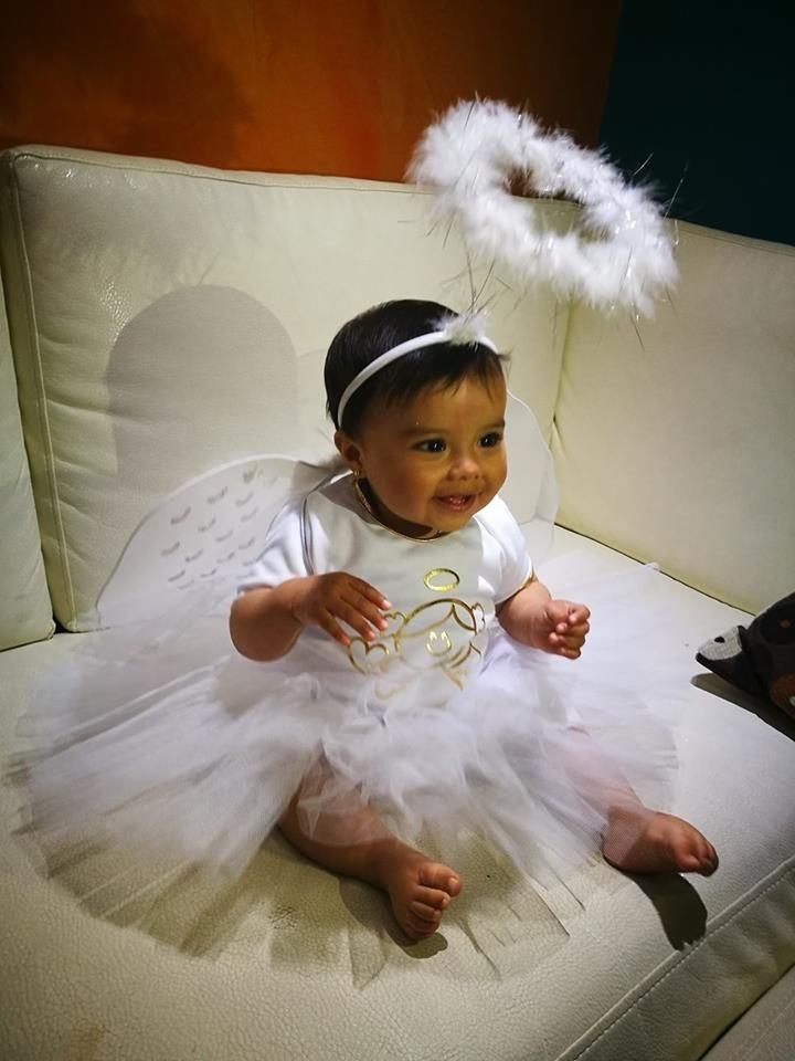 Disfraz de angel tutu para bebe y ni a halloween 2017 - Disfraces de angel para nina ...