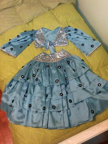 disfraz de baile de español para niña