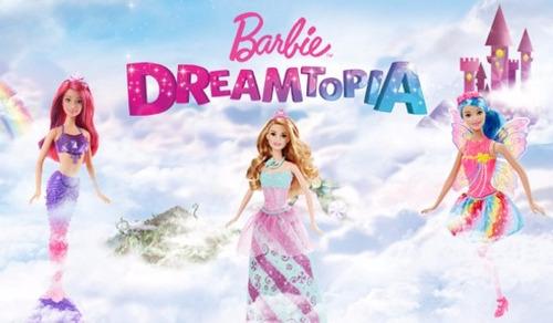 disfraz de barbie princesa dreamtopia original new toys