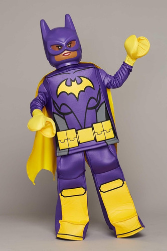 disfraz de batgirl disguise: lego movie prestige halloween!
