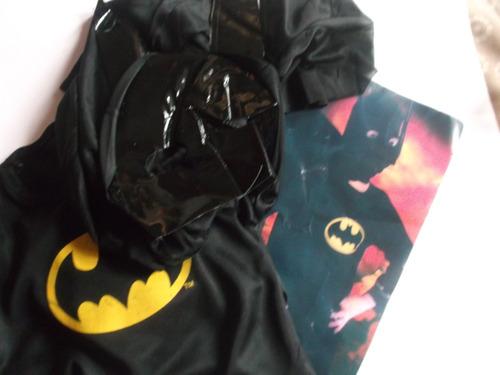 disfraz de batman, niño  talles de 2  a 9 años  $ 380