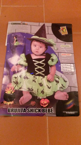 disfraz de bebe niña