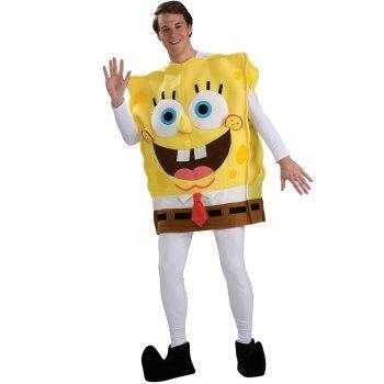 disfraz de bob esponja para adultos envio gratis