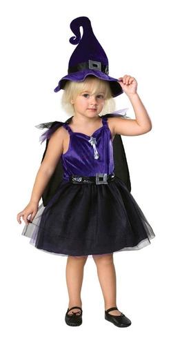 disfraz de bruja morado para niña somos tienda