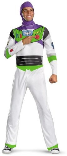 disfraz de buzz lightyear para adulto - x-large
