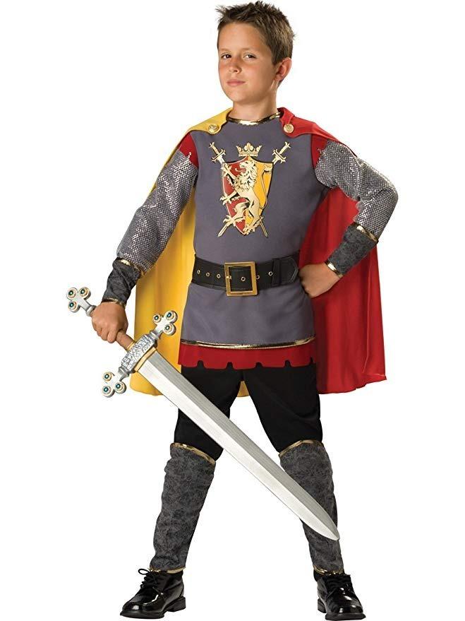12322856b Disfraz De Caballero Medieval Renacimiento Para Niños 15