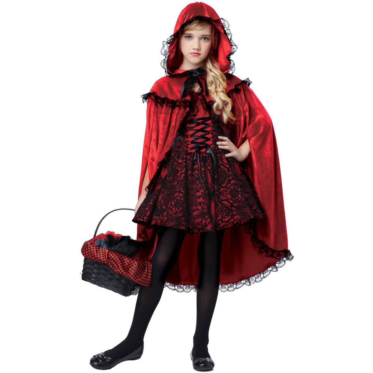 Caperucita Roja Halloween.Disfraz De Caperucita Roja De Halloween Para Nina