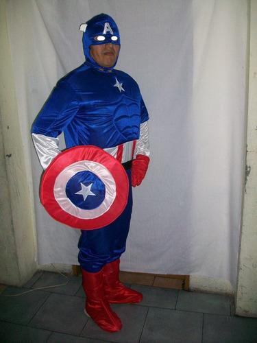 disfraz de capitan america para adulto