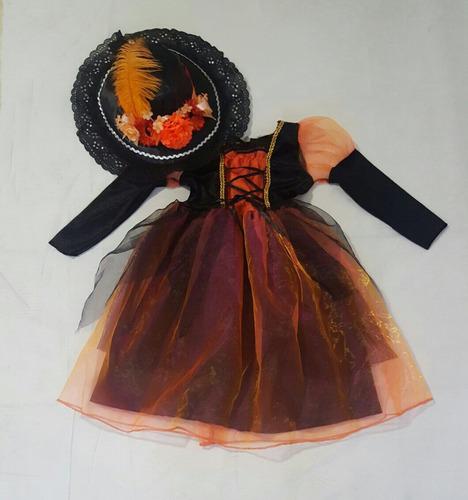 disfraz de catrina para niña  halloween