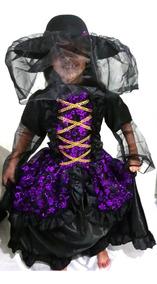 Disfraz De Catrina Para Niña Halloween Modelo 2 Muertos