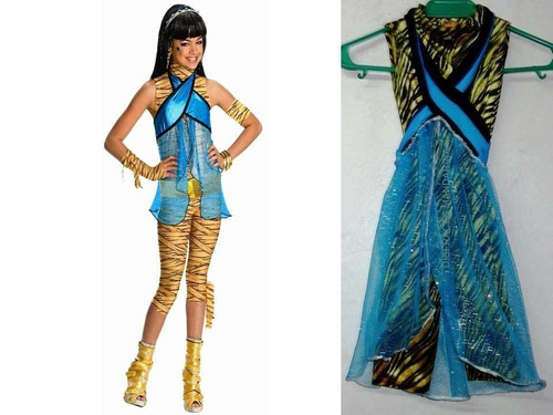 disfraz de cleo de nile monster high talla 2