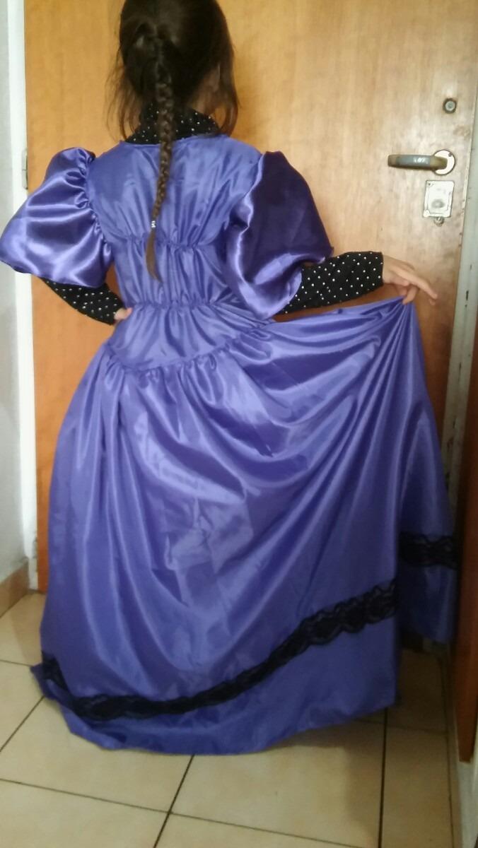 Disfraz De Dama Antigua - $ 550,00 en Mercado Libre