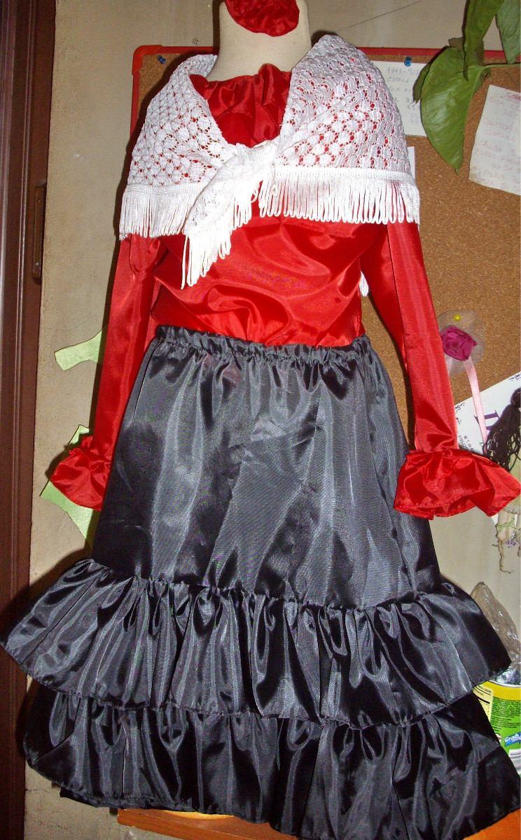 455374b6b disfraz de dama española para niñas. Cargando zoom.