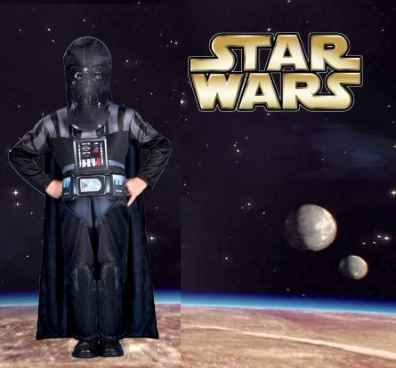 disfraz de darth vader star wars original new toys
