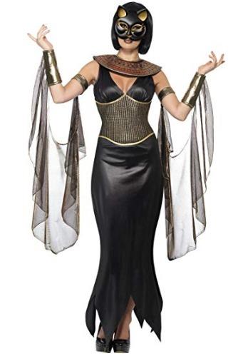 Disfraz De Diosa De Gata Para Mujer Halloween Fiesta Grande - Disfraz-de-gata-para-halloween