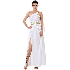 Dama Vestido De MujerAtenea Griega Para Diosa Disfraz 0wmNnv8