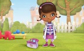 disfraz de  doctora de juguetes!!!!!