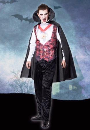 disfraz de dracula halloween adulto talle 1