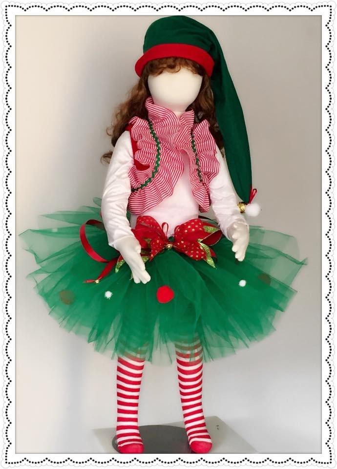Disfraz de duende navide o en mercado libre - Disfraz navideno nina ...