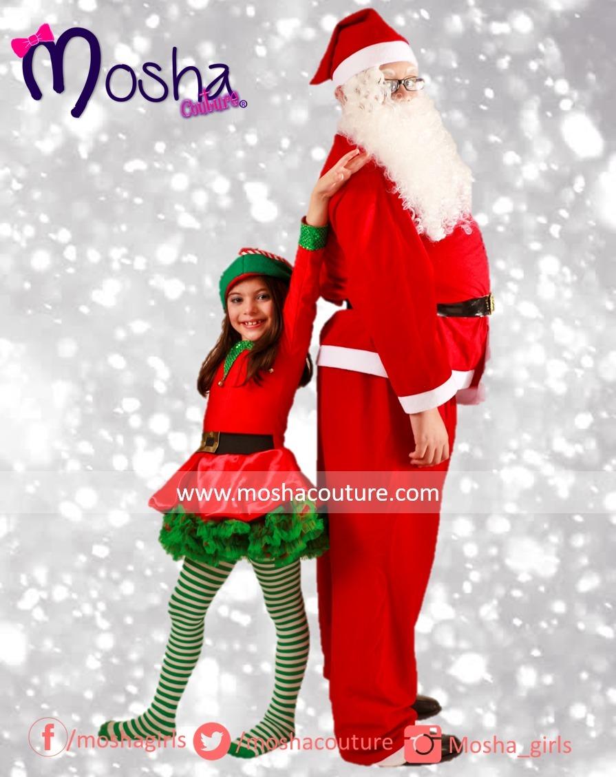 Disfraz de duende para ni a tutu en mercado libre - Disfraz navideno nina ...