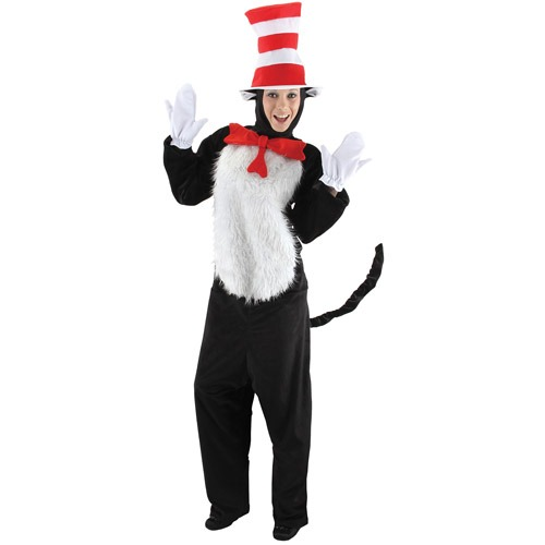 Disfraz De El Gato Ensombrerado Para Mujer bc0918eea08