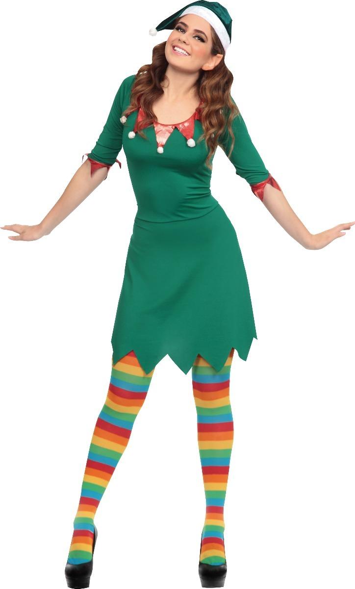 Disfraz de elfo para mujer disfraces navidad duende - Disfraces para navidad ...