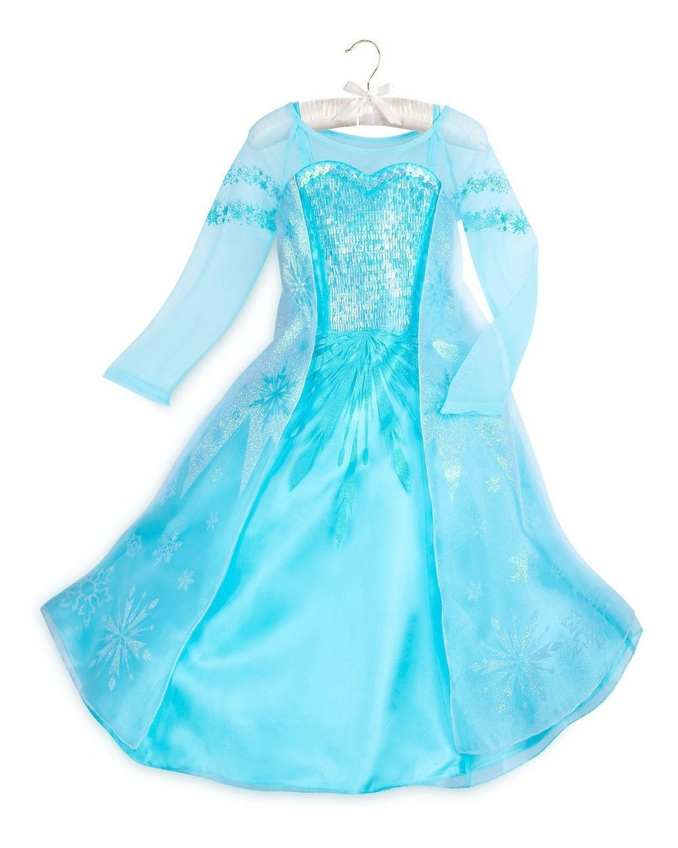 Disfraz De Elsa De Frozen Original De Disney Store - $ 279.990 en Mercado  Libre
