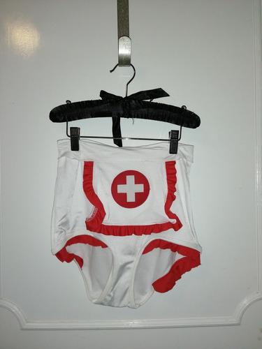 disfraz de enfermera leg avenue