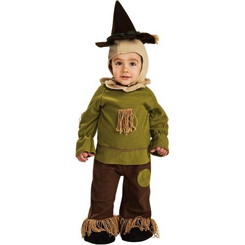 Disfraz De Espantapjaros Halloween Infantil 143111 en Mercado