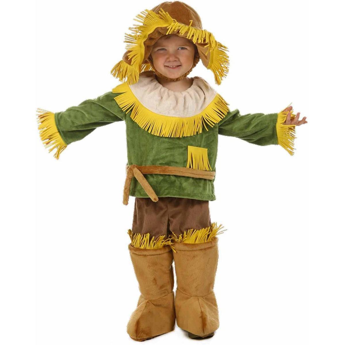 c245920d4 Disfraz De Espantapájaros Mago De Oz Para Niño Talla: