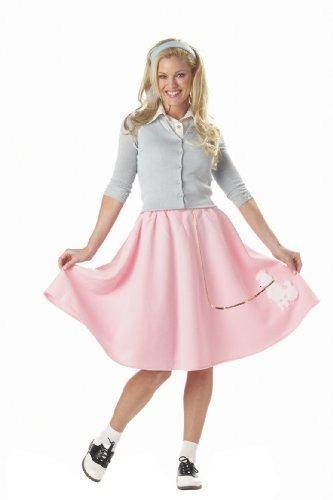 disfraz de falda caniche para mujer de los trajes de